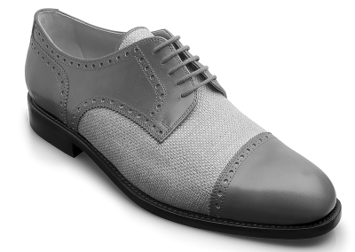Strade Mario Halfbrogue Derby mit Canvas