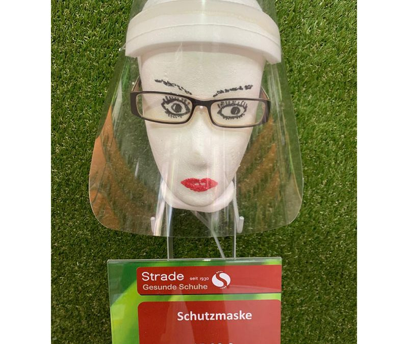 Schutzmasken made by Strade